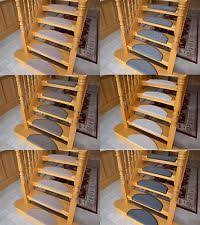 carpet treads. 15 piece carpet stair tread mats step staircase floor mat protector cover pads treads t