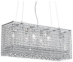 reflections glow crystalndelier flush mount 600lm6lsp diy linear crystal dining room modern contemporary broadway lamp unusual