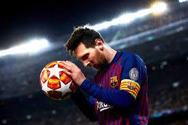 speler die zo groot is als Lionel Messi ...