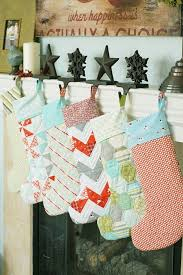 Pattern For Quilted Christmas Stocking easy quilted christmas ... & ... Pattern For Quilted Christmas Stocking 17 best ideas about quilted  christmas stockings on pinterest ... Adamdwight.com