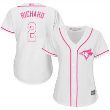 Majestic Replica Jersey Size Chart Majestic Replica Clayton Richard Womens White Mlb Jersey