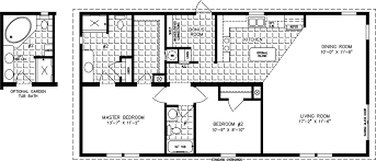manufactured home floor plan the imperial model imp 2483a 2 bedrooms