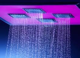 kohler watertile ambient rain overhead square 54 nozzle shower panel
