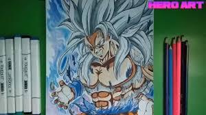 cách vẽ tranh goku super saiyan 5 how to draw goku ssj 5 - YouTube