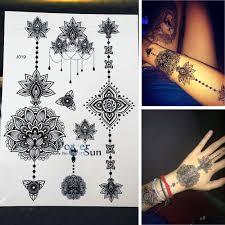 25 Stylu New Příjezdu Flash ženy Tetování Samolepky Velký Květ