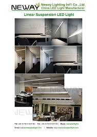 Japan Led Lighting Manufacturer Suspended Architectural Linear Light Fitting Modern Linear