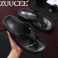 zuucee fashion classic men house slippers outdoor beach flip flops casual shoes malaysia