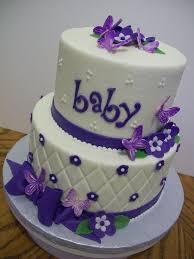 11 Nice Baby Shower Cakes Purple Photo Purple Baby Shower Cake