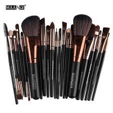 new pro 22pcs cosmetic makeup brushes set blush powder foundation eyeshadow eyeliner lip make up brush
