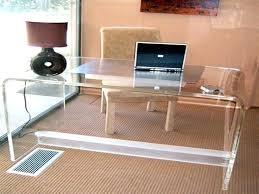 clear office desk. Acrylic Office Furniture Laptop Desk Clear Clear Office Desk R