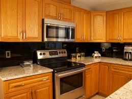 kitchen glass backsplash. Kitchen Backsplash Black Glass B