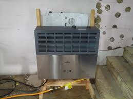 Gas Wall Heater Installation Thermablaster Dual Fuel Wall Heater Review Youtube
