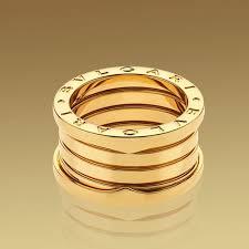 bvlgari b zero1 4 band yellow gold ring