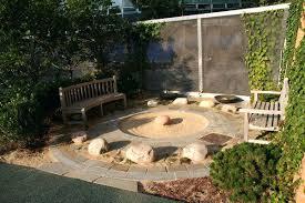 an outdoor zen garden content uploads sand