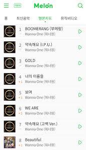 Mnet Chart 2018 Dcn
