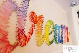 string art tutorial little fingers