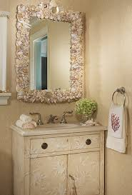 marvelous coastal furniture accessories decorating ideas gallery. 33 Modern Bathroom Design And Decorating Ideas Incorporating Sea Shell Art Crafts.Love This Mirror.it Makes Room So Much More Homey. Marvelous Coastal Furniture Accessories Gallery L