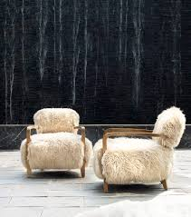 dining table furniture bazaar. the cabana yeti chair is made with luxurious thick long-haired new zealand sheepskin. dining table furniture bazaar