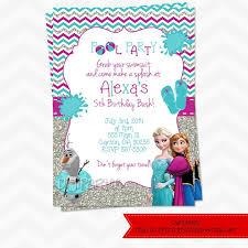Fantastic Frozen Party Invitation Wording 5 Especially