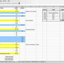 Small Business Income Expense Spreadsheet Template - NAF Spreadsheet