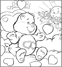 Small Picture Care Bears Coloring Pages Care Bear Coloring Pages Print Out