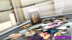 love photo frames after effects