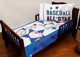 Baseball Toddler Bed Set Kids Sports Bedding Sheet Personalizable ...