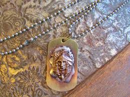 indian dog tag necklace by ataggirl proudly