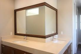 Bathroom Mirror Frame Bathroom Mirror Frame Kit Home Depot Build Home