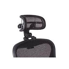 chair headrest. headrest for herman miller aeron chair - h3 carbon by engineered now new f