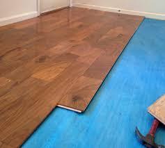 laminate flooring underlayment pad