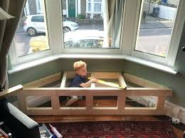diy window seat how to build a bay with storage plans