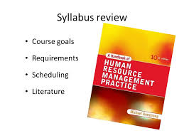 Example literature review on strategic human resource management