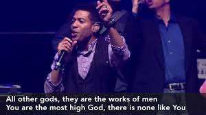 all other gods they are the works of man africaribb medley most high god urbana 15 31pm youtube