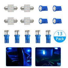 Car & Truck LED <b>Light</b> Bulbs Auto Parts and Vehicles <b>13X Blue</b> LED ...