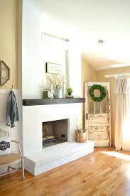 fireplace surround paint black gany painted white matte paint fireplace doors with heat resistant interior brick rock painted white