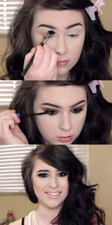 makeup tutorials for small eyes basic brown smokey eye for hooded small eyes