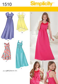 Girl Dress Patterns For Special Occasions