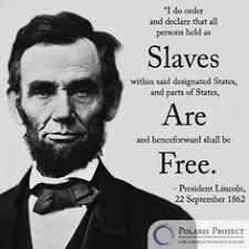 President Lincoln on slavery and freedom. | Human Trafficking ...