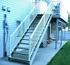 cost to build a deck yourself cost to build exterior stairs excellent how to install deck cost to build a deck yourself average