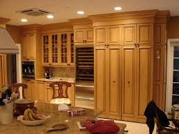 Elegant Image Of: Charming Tall Kitchen Pantry Cabinet Ideas Design