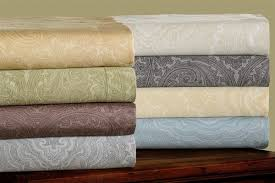 cotton rich 600tc italian paisley duvet cover set