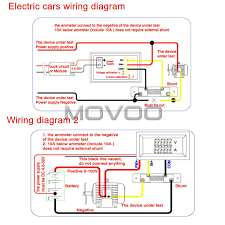 ac amp meter wiring diagram ac image wiring diagram aliexpress com buy 2in1 volt amp meter dc 0 100v 100a blue red on ac amp