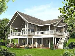 lake house plans with walkout basement astonishing ideas lake house plans with walkout basement best mountain