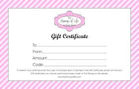 Create Gift Certificate Template Create A Gift Card Template