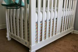 i think i ll be happy that i ve used velcro in a couple places to hold the skirt s top to the crib frame so that sheet changes don t require crib skirt