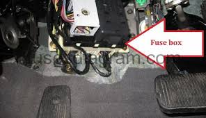 fuses and relays box diagram ford taurus 2000 2007 identifying fuse panel