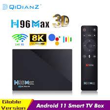 Tivi Box Thông Minh H96Max RK3566 Android 11 Hỗ Trợ 3D 8K HD Truyền Thông  Người Chơi Bluetooth 2.4G 5G 1000M Wifi H96 MAX Set Top Box|Set-top Boxes