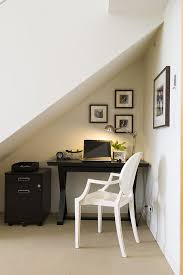Work for the home office Modern Even Really Awkward Niches Could Be Equipped With Small Desks maria Killam Marketplace 57 Cool Small Home Office Ideas Digsdigs