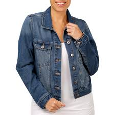 the 1964 denim company women s denim jacket blue